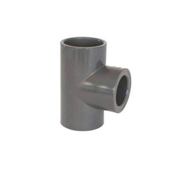 J&K 40mm 90 Degree Tee (Solvent Weld)