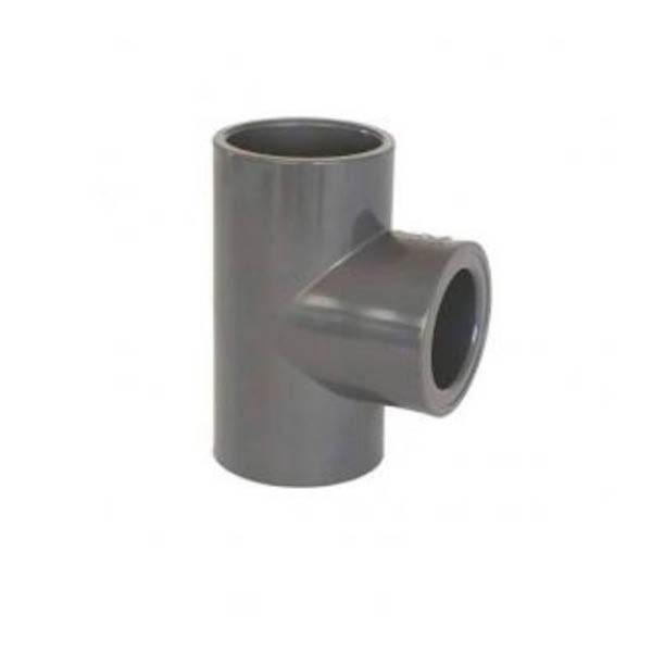 J&K 50mm 90 Degree Tee (Solvent Weld)