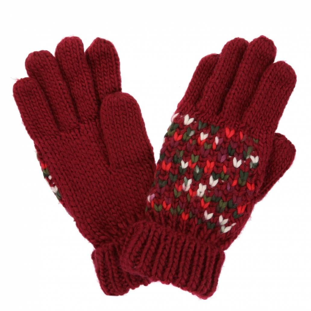 Regatta Ladies Frosty Glove III - Delhi Red - S/M