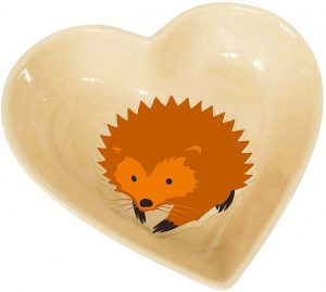 I Love Hedgehog Feeding Bowl