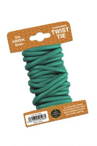 Garland Garland 5m Twist Tie Cushioned 5mm Green