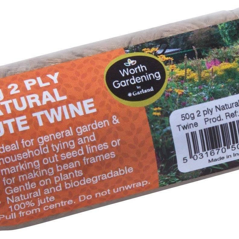 Garland 50G 2 Ply Natural Jute Twine