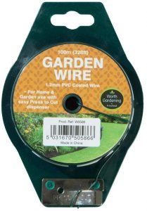 Garland 100m Garden Wire 1.2mm PVC Coated