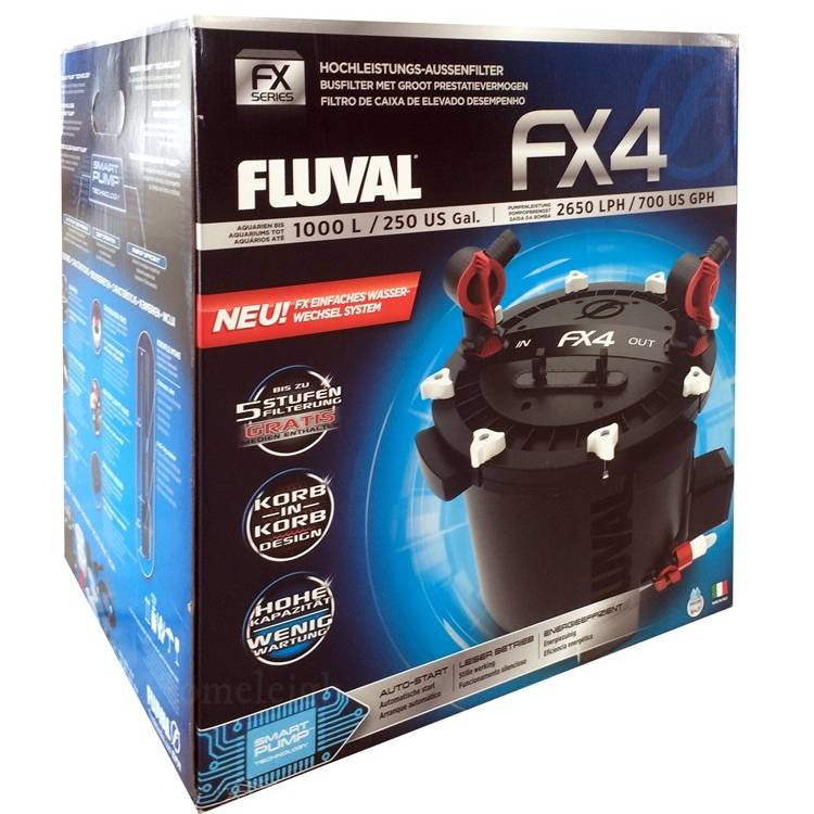 Fluval FX4 External Power Aquarium Filter
