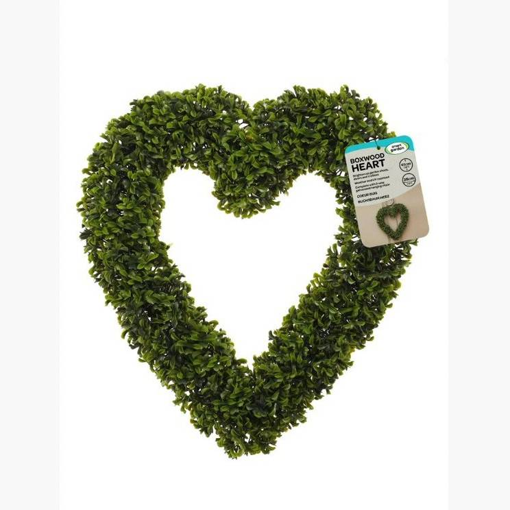 Smart Garden Boxwood Heart 41 x 38cm