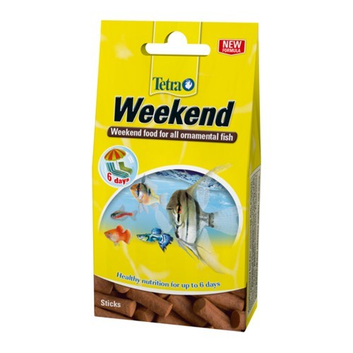 Tetra Weekend Holiday Food 10 sticks - Tropical Fish