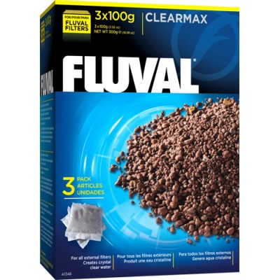 Fluval Clear Max Phosphate Remover - 3 X 100G