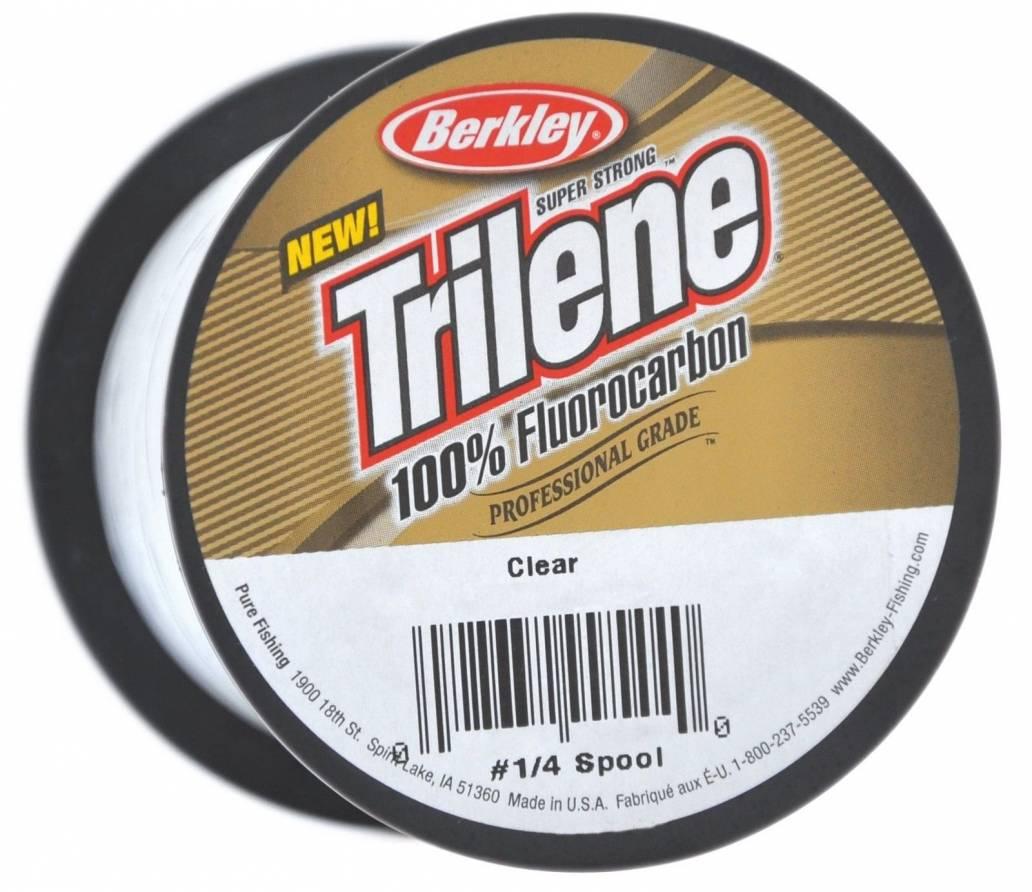 Berkley Trilene 100% Fluoro carbon Clear 770 Yds 15 Lb