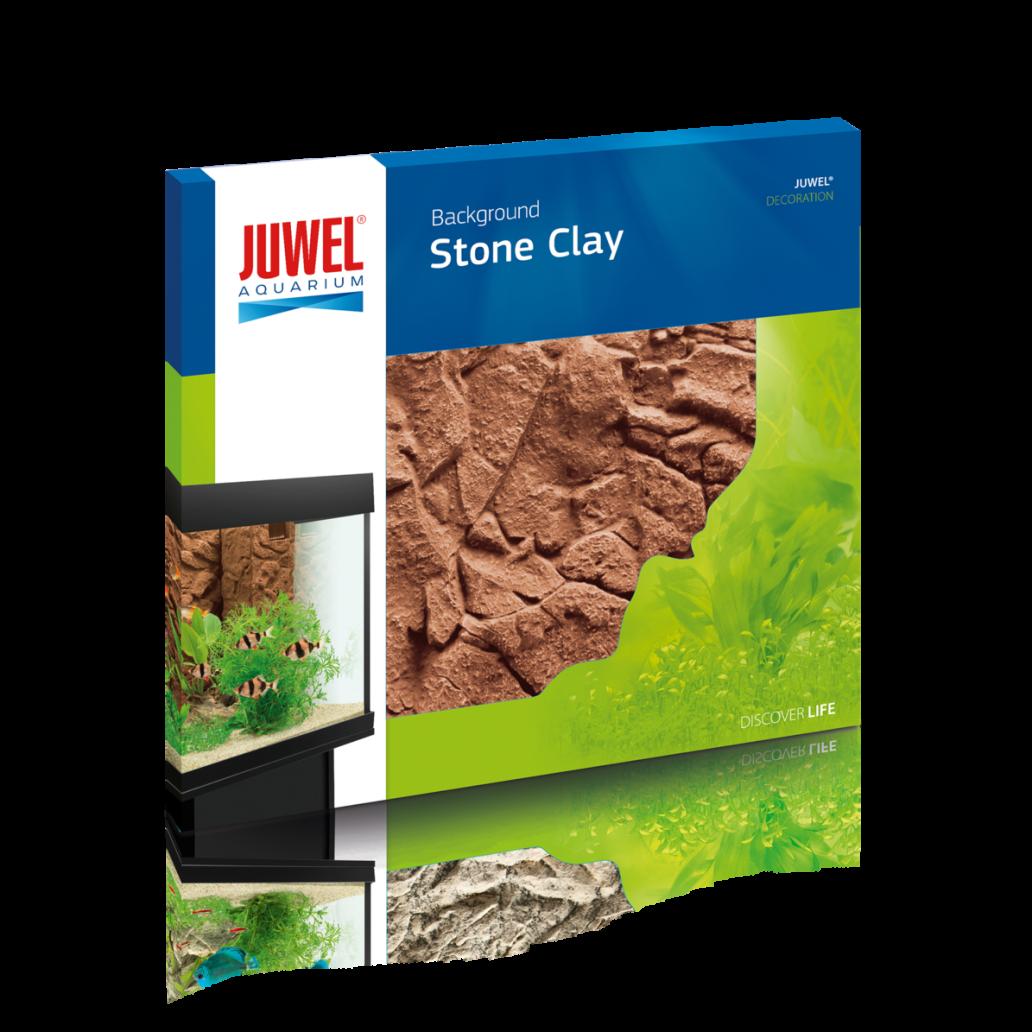 Juwel Aquarium Background - Stone Clay