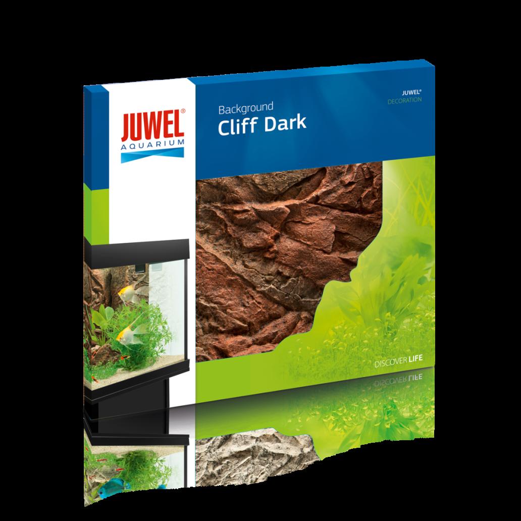Juwel Aquarium Background - Cliff Dark
