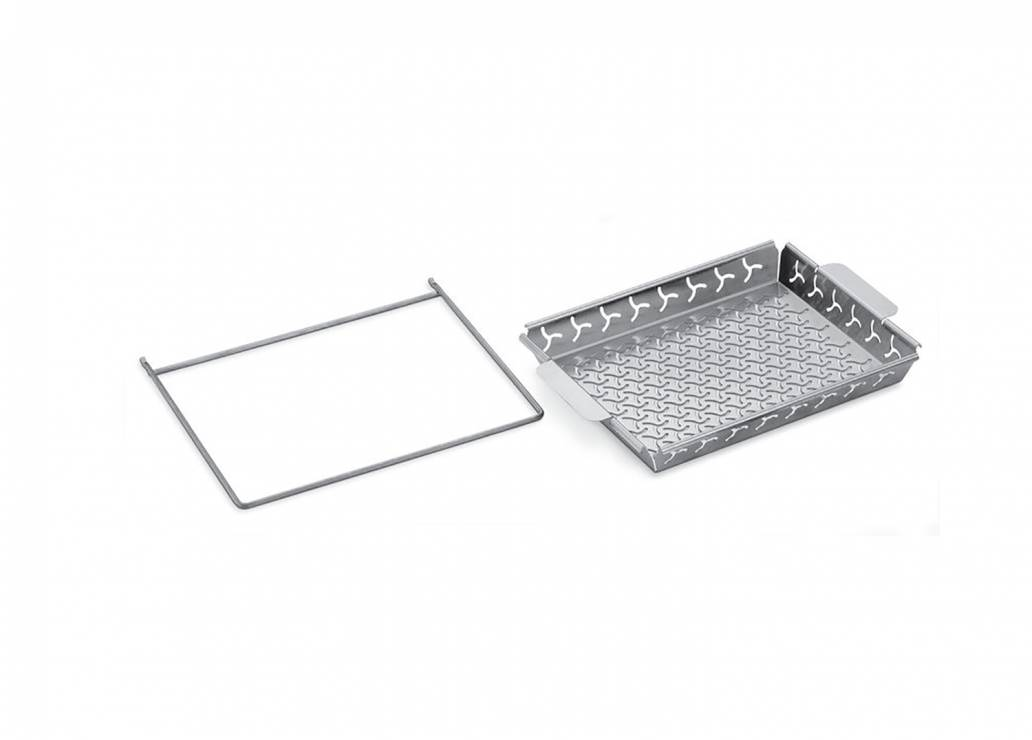 Weber® Grilling Basket Set  Stainless steel, fits ETCS and Genesis® II LX (7616)