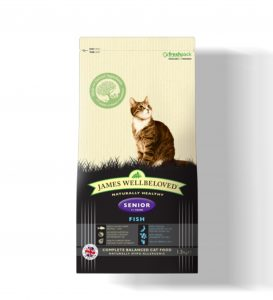 James Wellbeloved Cat Senior Fish & Rice - 1.5kg