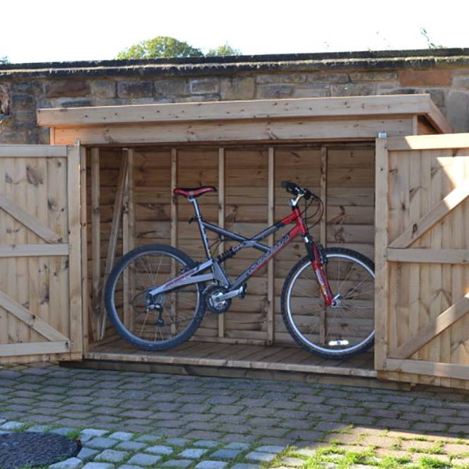 Regency Security Bike Shed