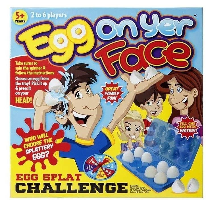 Crazy Egg On Yer Face Game