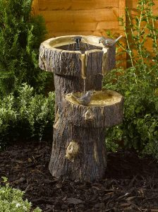 Smart Garden Tree Trunk Water Feature