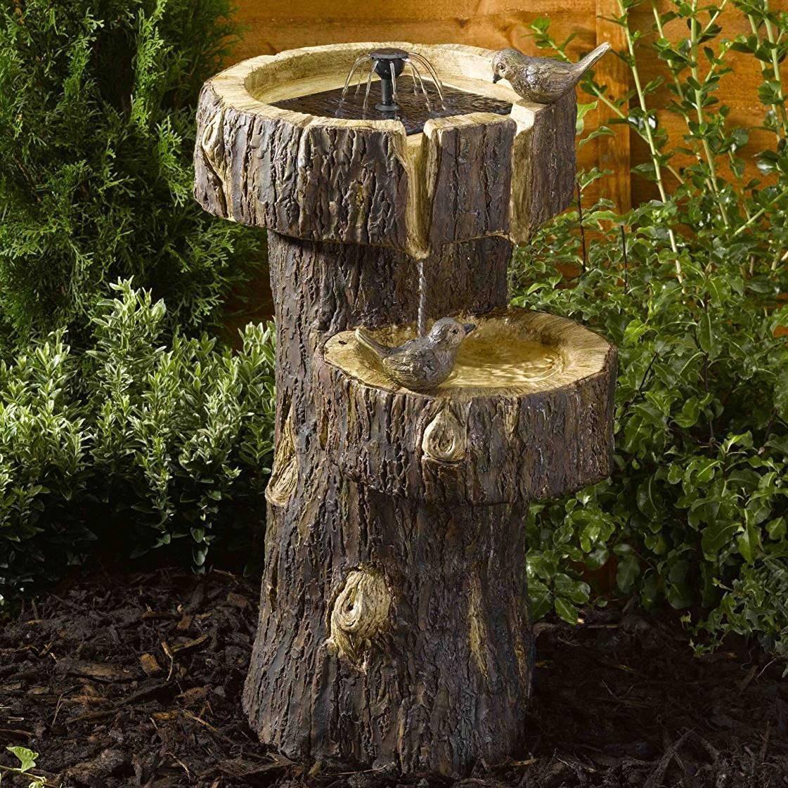Smart Garden Tree Trunk Water Feature