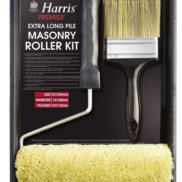 Harris Premier Masonry Roller Set with Brush