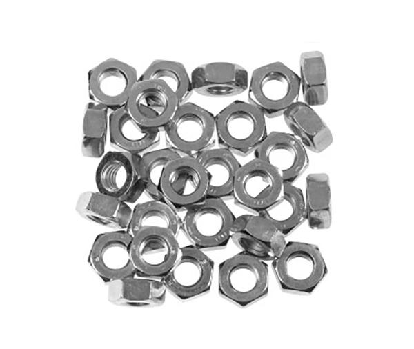 SupaFix Steel Hex Nut M10 - Zinc Plated