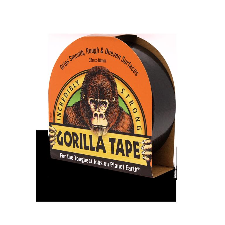 Gorilla Tape Black 32m Roll