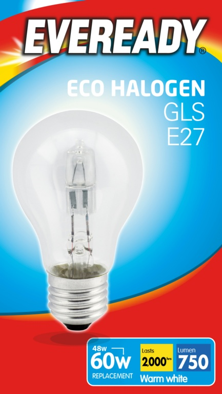Eveready Eco GLS Clear E27 Lightbulb