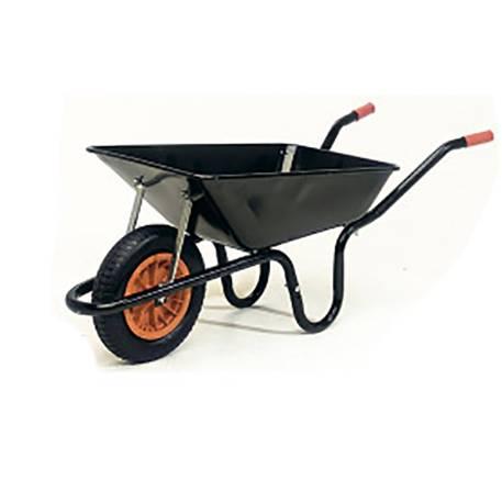 Parasene Heavy Duty Contractors Wheelbarrow With Pneumatic Tyre 90L