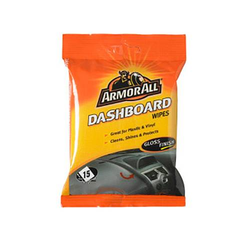 Armor All Dashboard Wipes Gloss Finish 15pk
