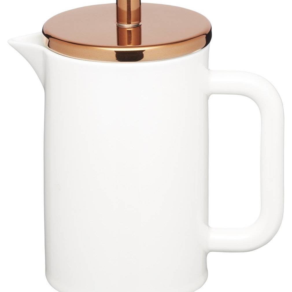 Le'Xpress Bone China 6 Cup Cafetiere - 800ml