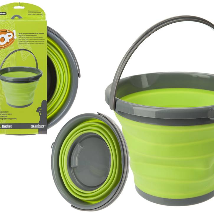 Summit Pop Up Bucket - 10l