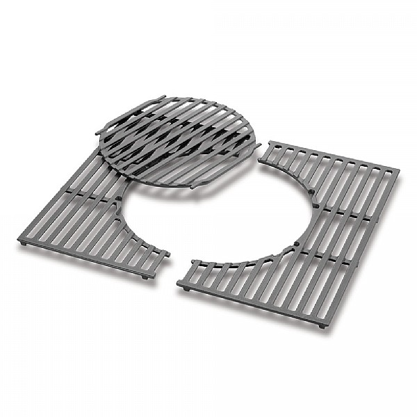 Weber Cooking Grates GBS Cast iron, fits Spirit 200 series 8846