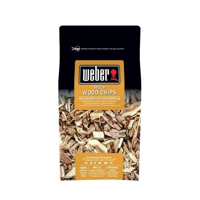 Weber Beech Wood Chips 0.7kg 17622