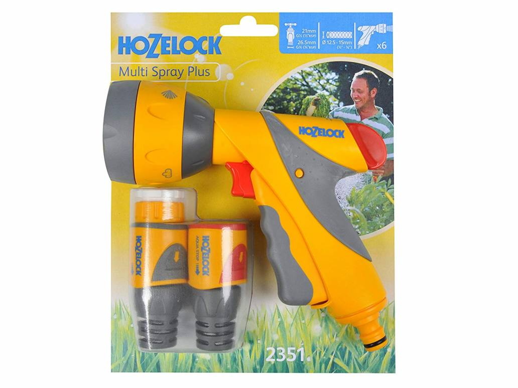 Hozelock Multi Spray Plus Gun & Plus Fittings Set (2351)