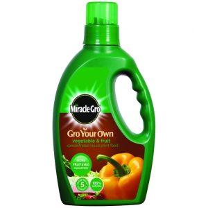 Miracle Gro Fruit & Vegetable Liquid - 1L