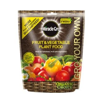 Miracle Gro Org Fruit & Vegetable Food - 1.5kg