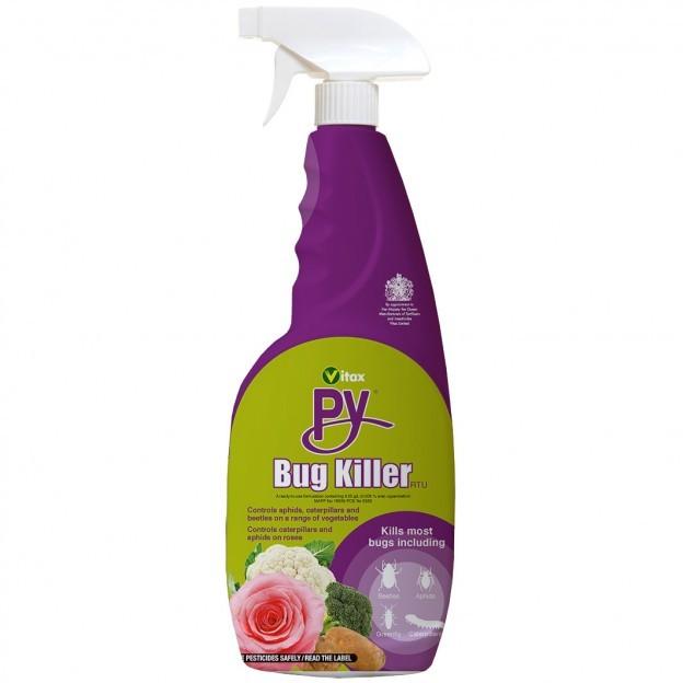 Vitax - PY Bug Killer RTU Spray - 750ml