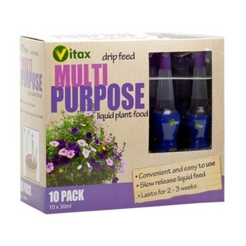 Vitax Drip Multi Purpose 30ml x 10