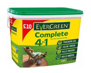 Evergreen Complete lawn feed, weed & moss killer 150m 5.25kg