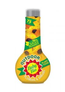 Baby Bio Outdoors Flowers & Shurbs Plant Food - 750ml