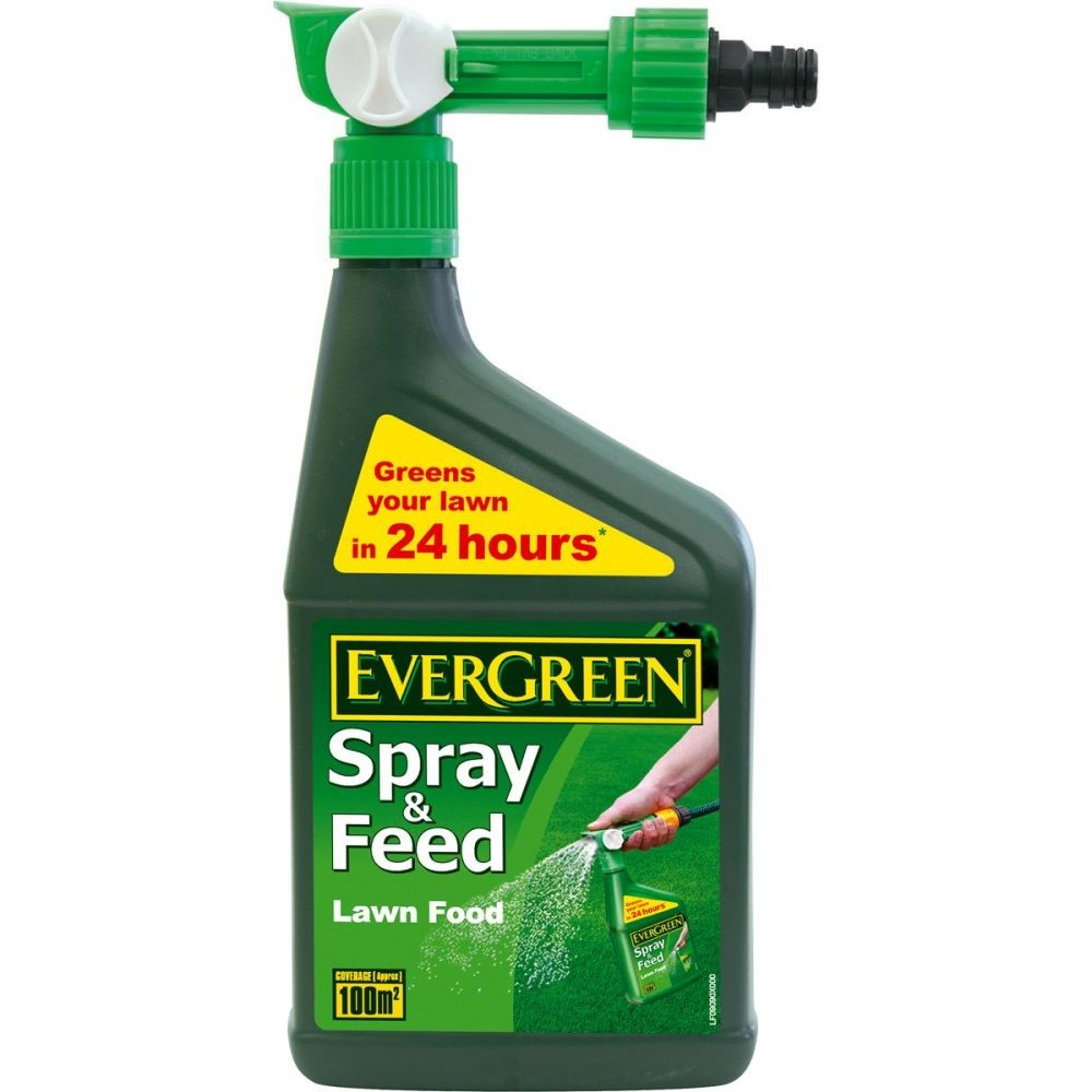 Evergreen Fast Green Spray & Feed - 1L