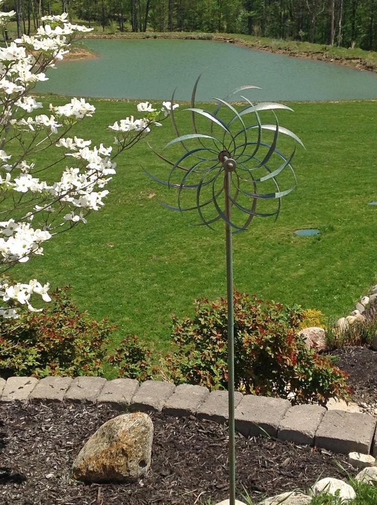 Creekwood 'Windswept' Verde Wind Sculpture