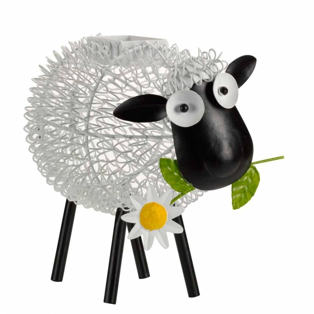 Smart Garden Metal Silhouette Solar Light - Dolly Sheep