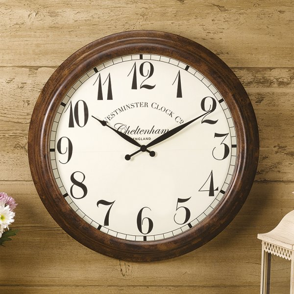 Smart Garden Cheltenham Wall Clock & Thermometer