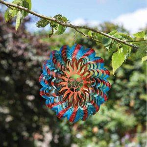 """Smart Garden 12"""" Autumn Sun Spinner"""
