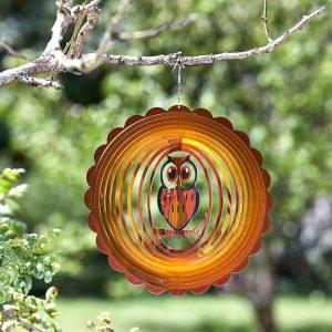 """Smart Garden 12"""" Owl Spinner"""