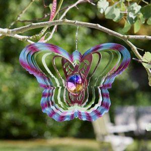 "Smart Garden 12"" Gazing Butterfly Spinner"