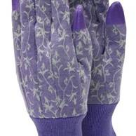 Ladies Gloves 3pk Blue/Lime/Purple Medium 7-8