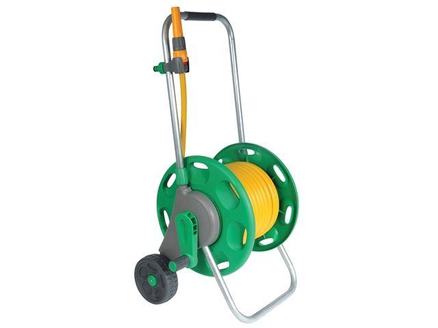 Hozelock Ass. 60m Hose Cart 30m MP hose & fittings/nozz. (2434)