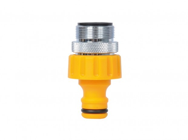 Hozelock Indoor Threaded Tap Connector 24mm M24 Male (2159)