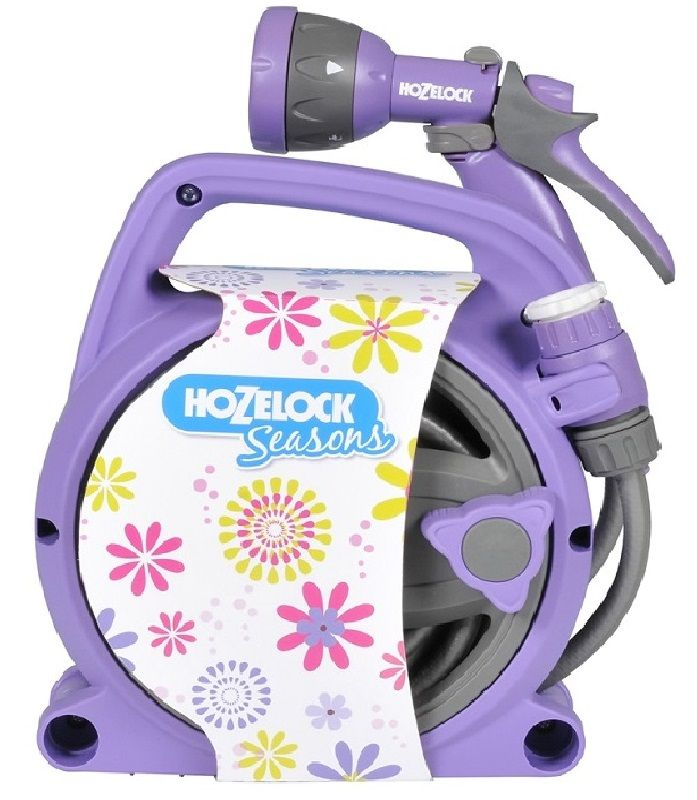 Hozelock SEASONS Pico Reel & Spray Gun Set (Purple) (2425)