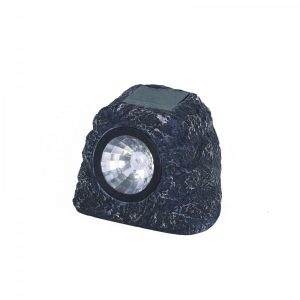 Smart Garden Solar Granite Rock Spot Lights