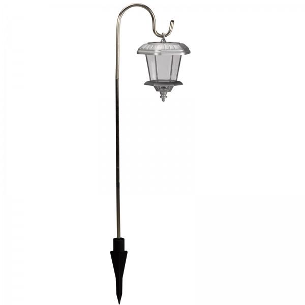Smart Garden Solar Hansom S/S Carriage Lantern 10 Lumens